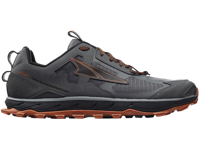 Altra Lone Peak 4.5 Shoes Herre gray/orange